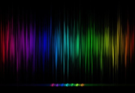 ELECTRO RAINBOW CURTAIN - rainbow, beautiful, digital, electro