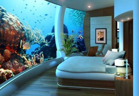dream bedroom aquarium bedroom fish design - Dream Bedroom Designs