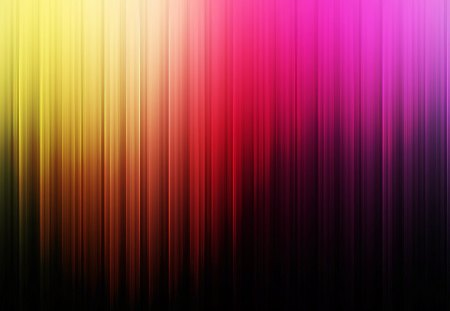 RAINBOW CURTAIN - purple, pink, red, curtain, rainbow, yellow