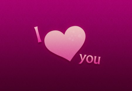 I ♥ you - lavender, pink, abstract, forever, textures, purple, declaration, violet, i love you, sweet