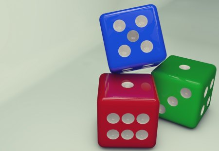 Dices - 3d, dice, hd, abstact