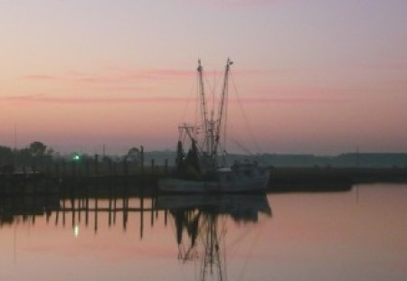 Shrimp boat - shrimp, south, carolina, boat