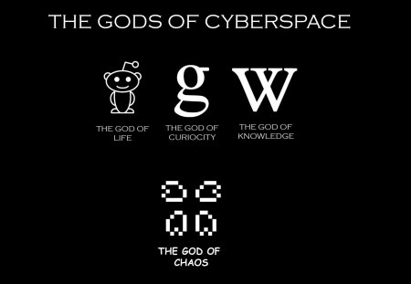 God of CYBERSPACE - google, cyberspace, wikipedia, android