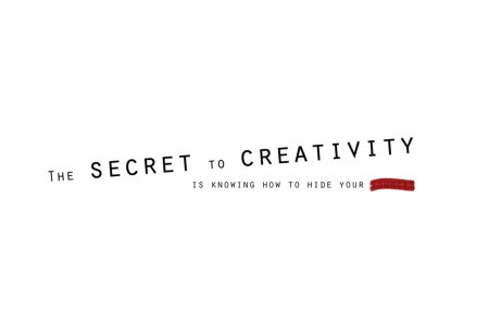 Secret of creativity - quote, creativity, secret, cg