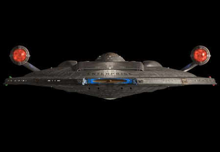 NX-01 Enterprise - nx-01, front view, star trek, enterprise