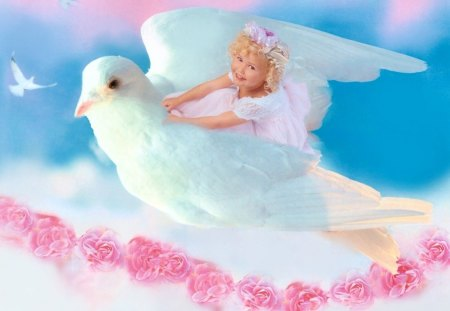 Angel baby 3d and cg abstract background wallpapers on desktop nexus image 1143722 - Angel baby pictures wallpapers ...