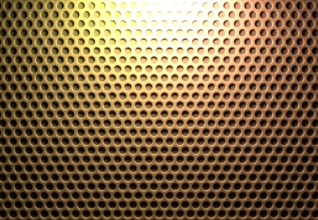 Yellow Honeycomb Pegboard - texture, pattern, yellow, simple, cg