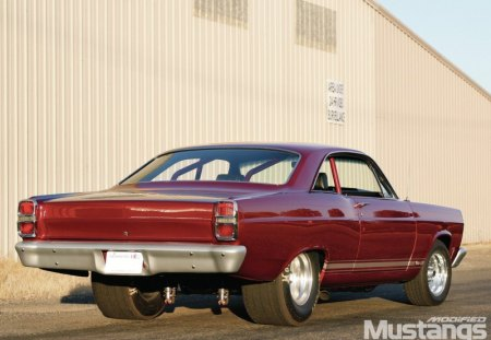 67 Fairlane - red, classic, 1967, ford