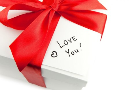 ℒ♥vℯ You - elegant, love, red, romantic, gift, bow