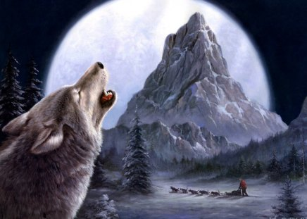 Wolf art - Fantasy & Abstract Background Wallpapers on ...