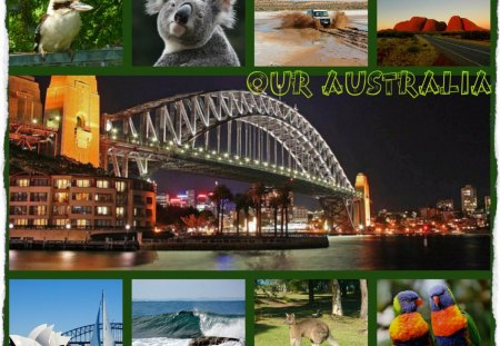 ~~~My Australia For DN Friends~~~ - abstract, scenes, animals, collage