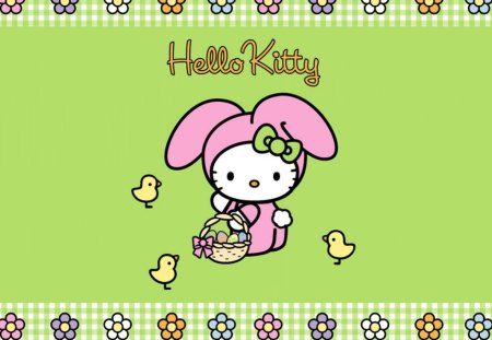 Easter Bunny - hello kitty, easter