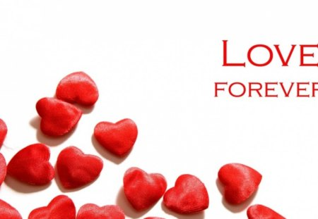 Love Forever - big, hearts, small, forever, always, love