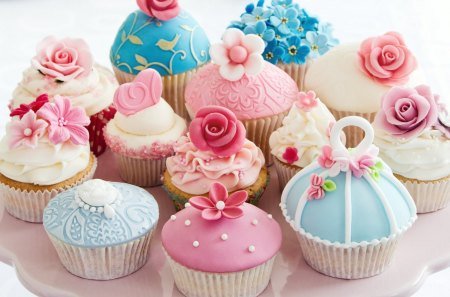 Cupcakes - photo, cake, cup, food