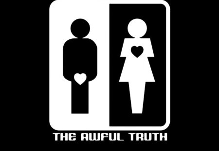 The Awful Truth - abstract, other, humor, sign