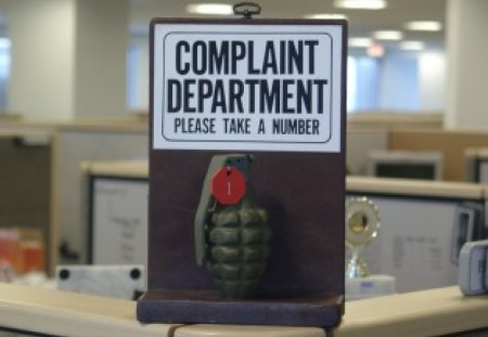 Complaint Department - abstract, other, humor, office