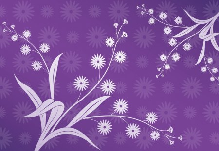Purple background - abstract, flower, purple, texture
