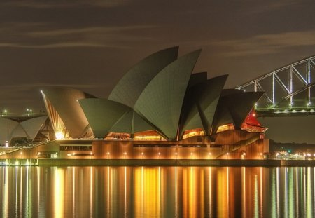 Sydney Australia's Opera House - digital, art, abstract, beautiful
