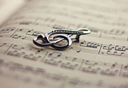 ...♬... - music, violin, notes, abstract, black