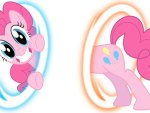 Pinkie Pie is portals