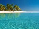 Tropical White Beach & Crystal Clear Water
