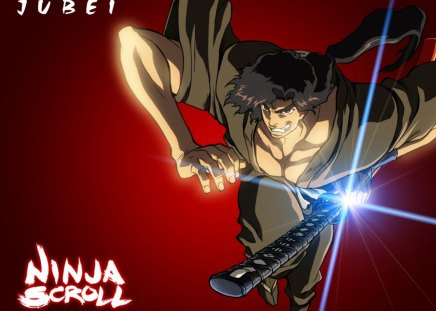 Jubei - ninja scroll, anime