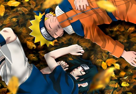 naruto and sasuke - naruto, anime