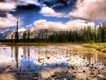 Jasper National Park, Canada in HDR