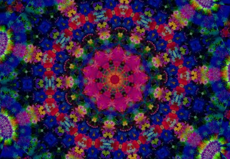 Festival of Colors - co11ie, colorful, neon green, Bright, blue, happy, intricate pattern, kaleidoscopes too1, deep pink, celebration, cheerful, kaleidoscope, shapes galore, smiling, red
