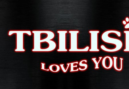 tbilisli - tbilisi, love, georgia, you