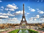 beautiful eifel tower