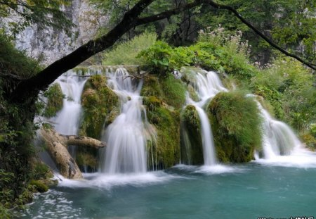 ♥Croatia Plitvice park for my dear Alan♥ - nature, paradise, waterfalls, river