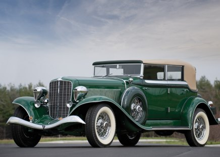 1934 Auburn Twelve Phaeton Sedan - 1934, phaeton, old, auburn, antique, 34, classic, vintage, twelve, car, sedan