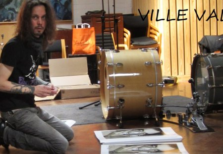 VILLE VALO - angel, him, music, ville valo, singer