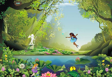 Magic land wonderful days anime background wallpapers on desktop nexus image 1182268 - Magic land wallpaper ...
