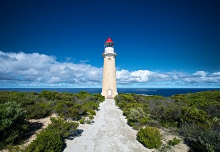 Kangaroo Island Lighthouse - island, light, kangaroo, lighthouse