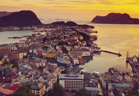 Alesund - Norway - alesund, norway, scandinavia, europe