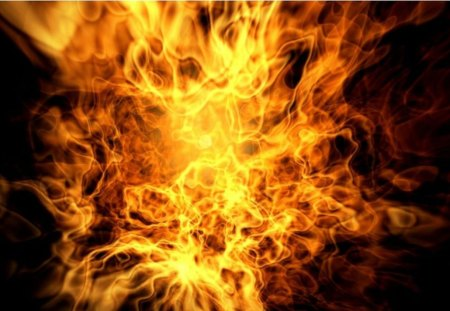 Abstract fire - forces of nature, fire, hd, other, abstract, nature, wallpaper
