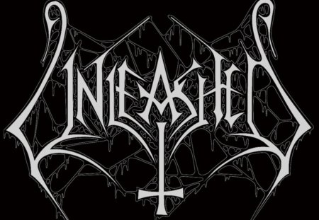 Unleashed - swedish, black, band, heavy, logo, metal, sweden, white, music, unleashed
