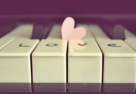Sweet melody - piano, melody, love, sweet, heart