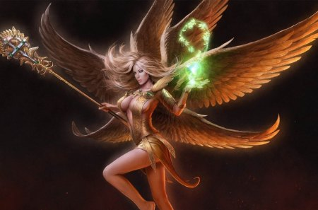 Angel - magic, fantasy, angel, cg