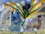 Five Tailed Beasts