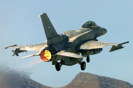 F 16-F Fighting Falcon - falcon, jet fighter, uae, f16
