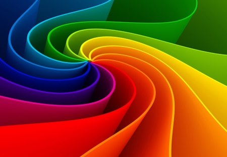Abstraction - abstract, color, rainbow, colorful