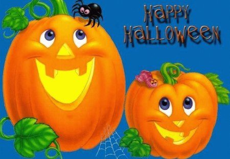 CUTE PUMPKINS - halloween, orange, cute, pumpkins, flag
