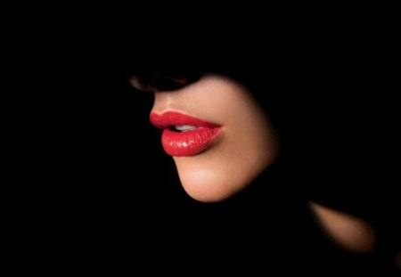 Read my lips - red, mouth, lips, read