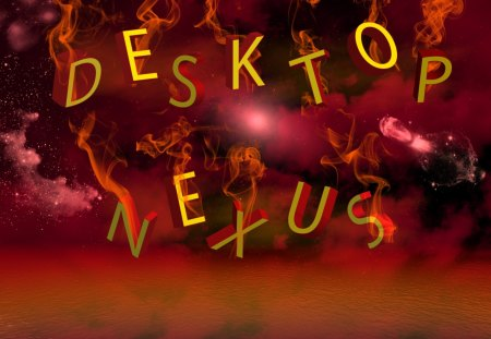 ~Desktop nexus~ - fiery, backgroundbeautiful, letters, desktop nexus, lovely, wallpaper, nice, red, fire