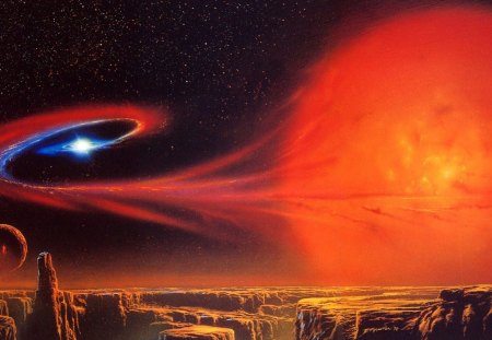 red giant star - Stars & Space Background Wallpapers on ...