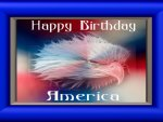 Happy Birthday America the Beautiful