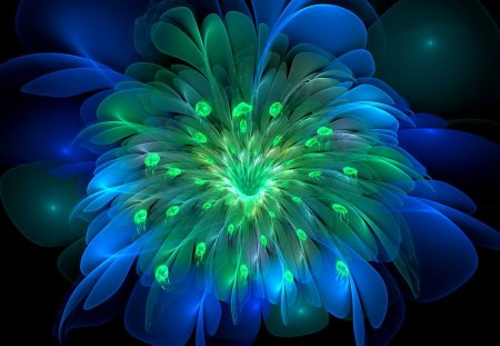 Peacock Bloom - Mind Teasers & Abstract Background ...